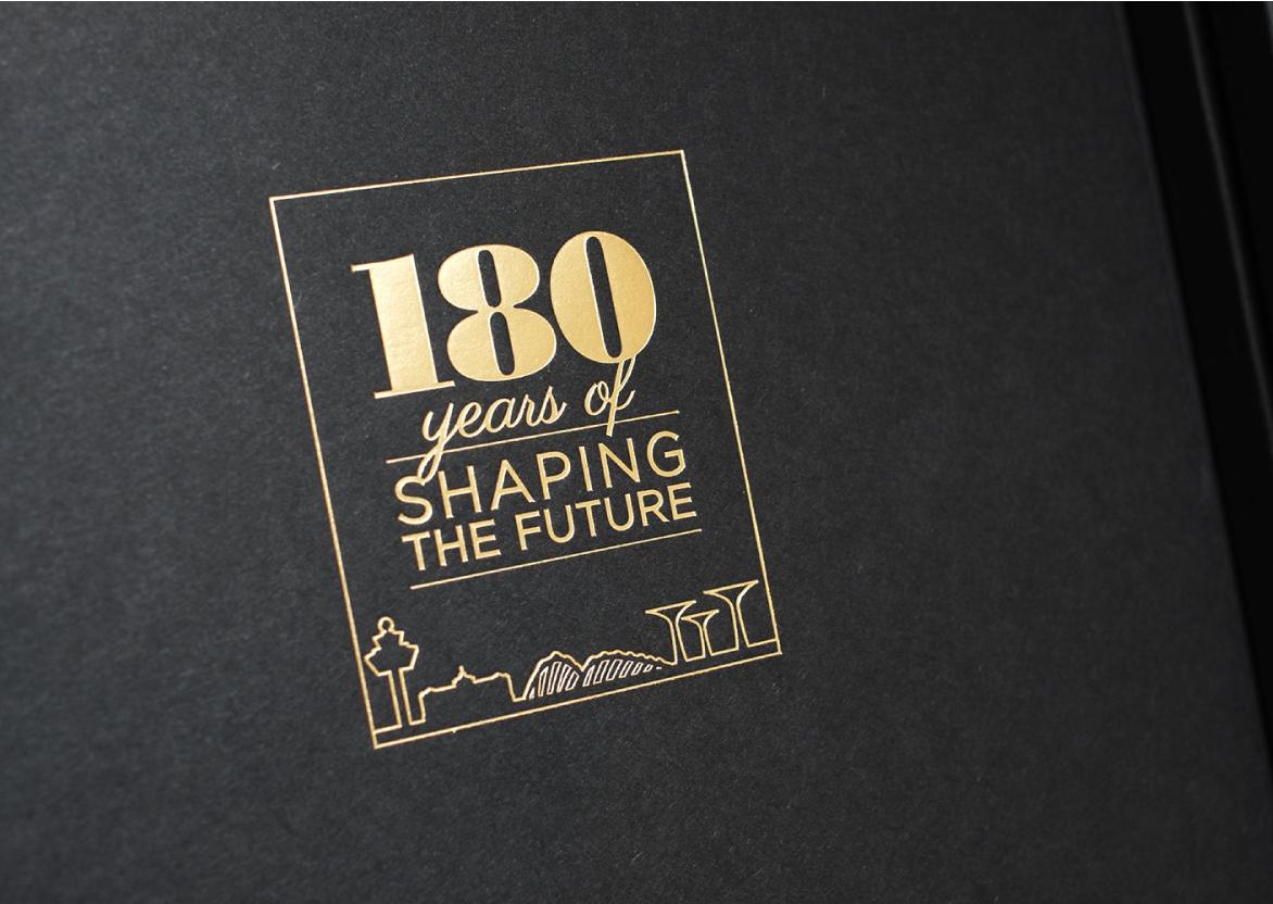 Creative Design   CPG 180th Anniversary   The Brand Fellows