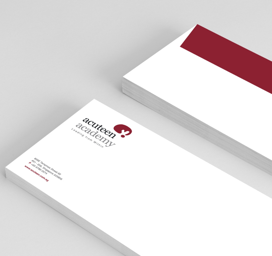 Brand Alignment, Positioning, Brand Identity, Logo, Stationery Design for Singapore tuition centre