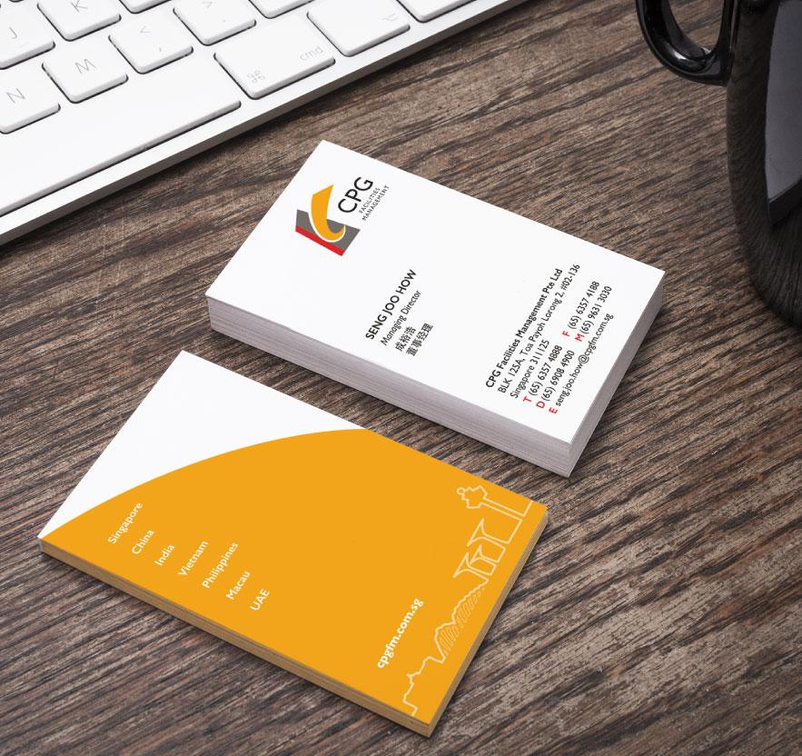 creative design creative design Namecard Design for CPG Consultants