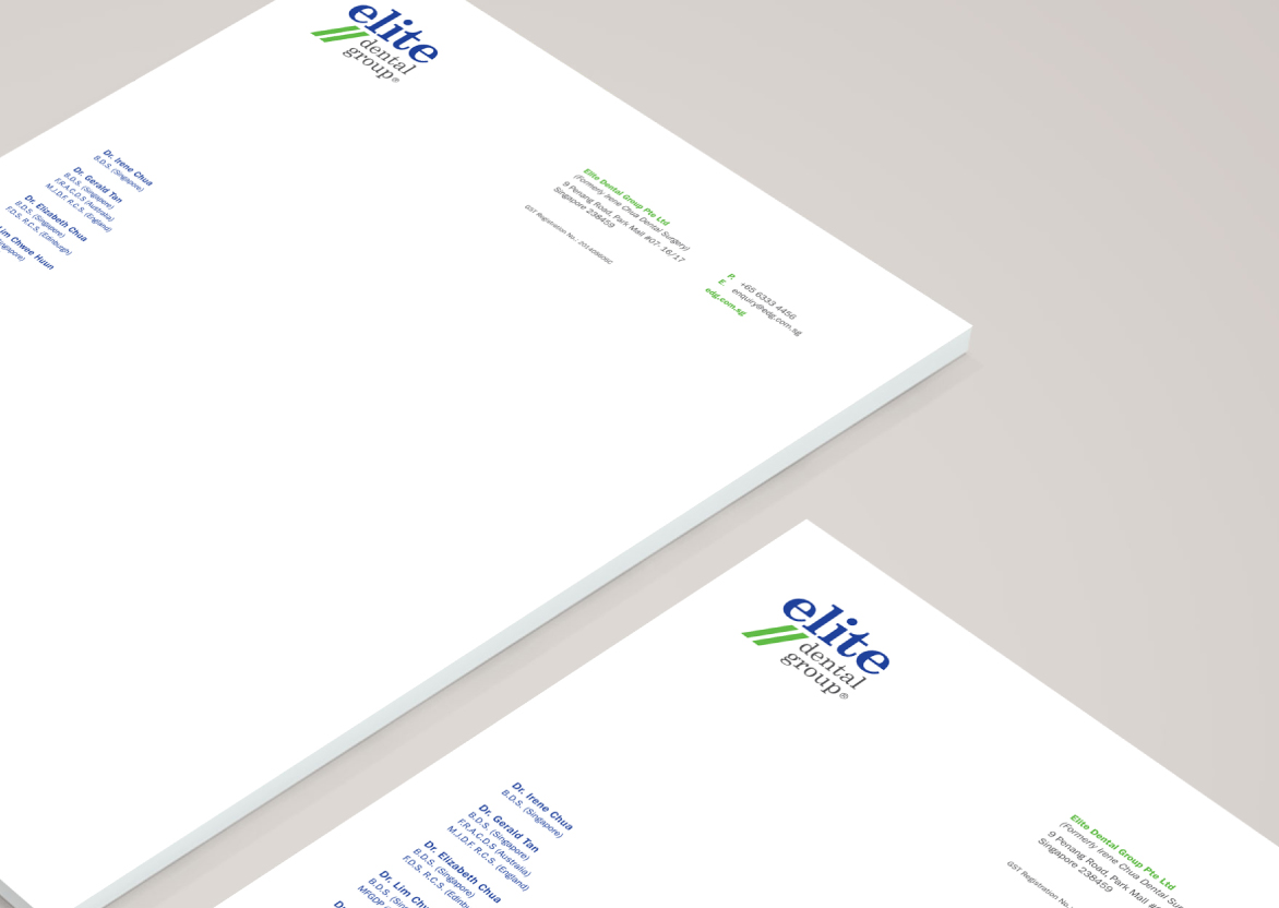 Web Design, Brand Identity, Logo Design, Stationery Design for Dental Company