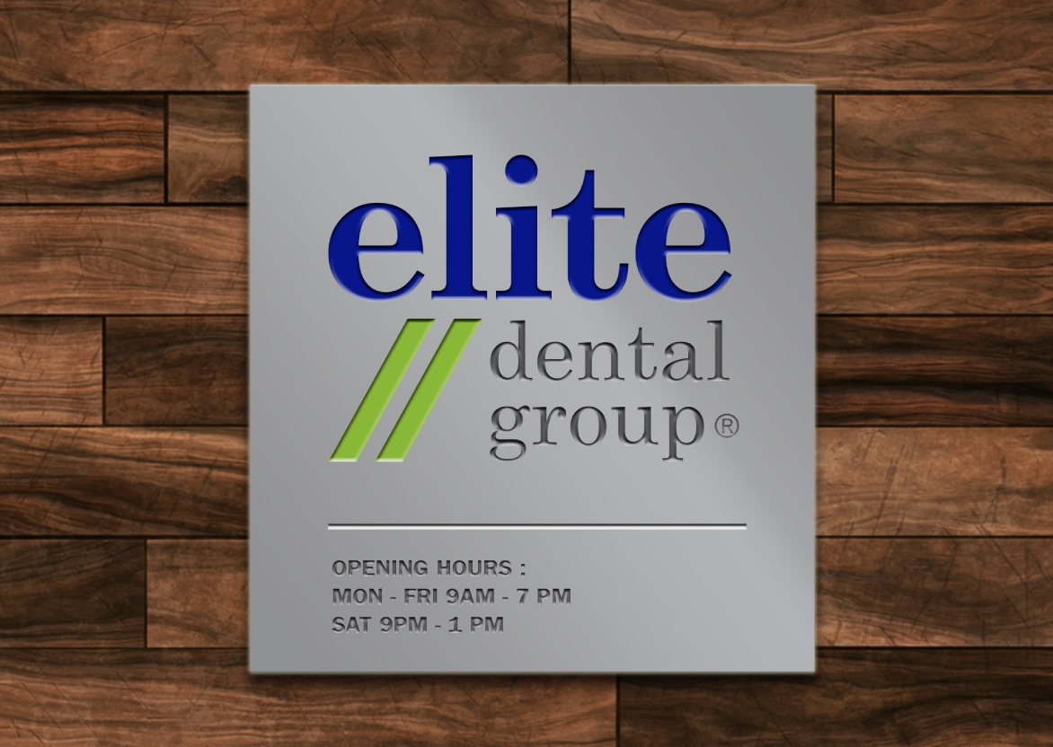 Signage Design, Brand Identity, Logo Design, Stationery Design for Dental Company