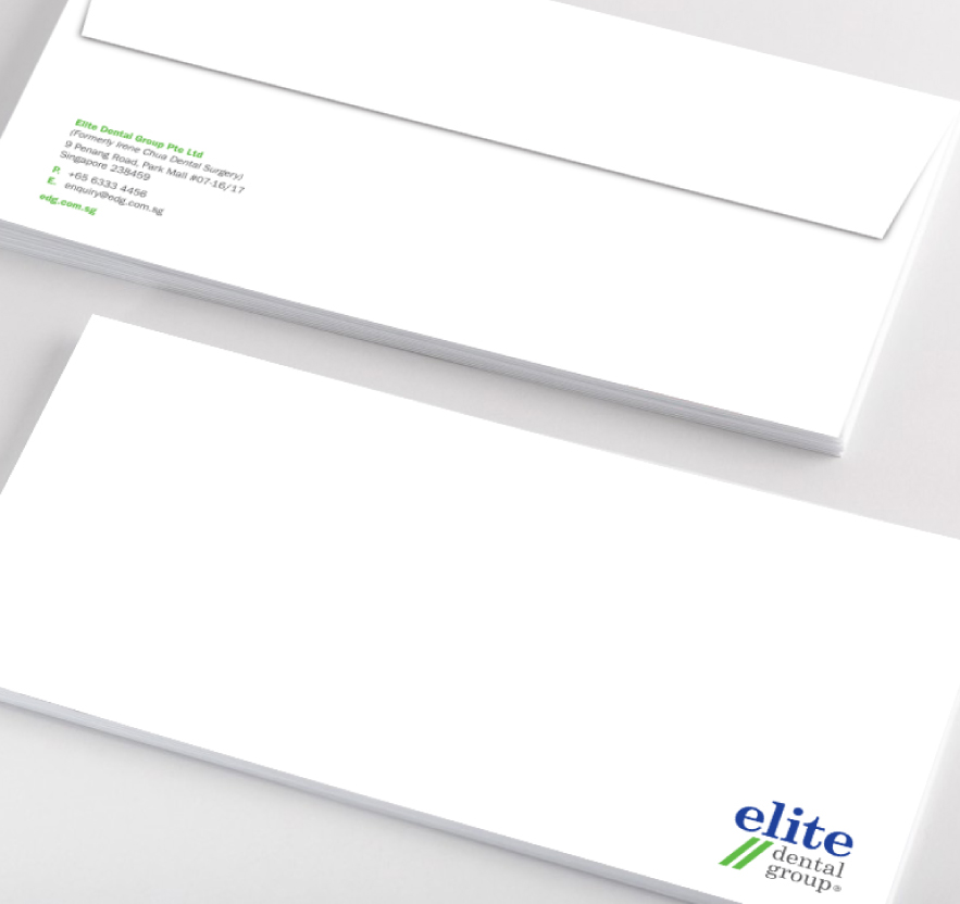Brand Identity, Logo Design, Stationery Design for Dental Company