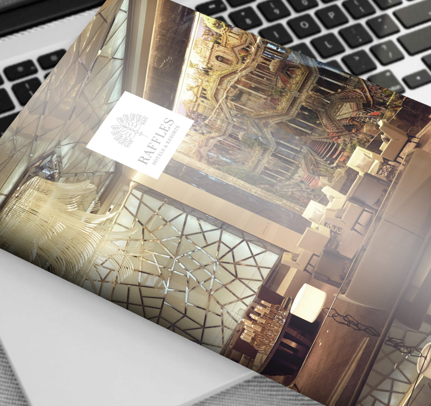 collateral design Creative art direction, concept and design layout for corporate brochure