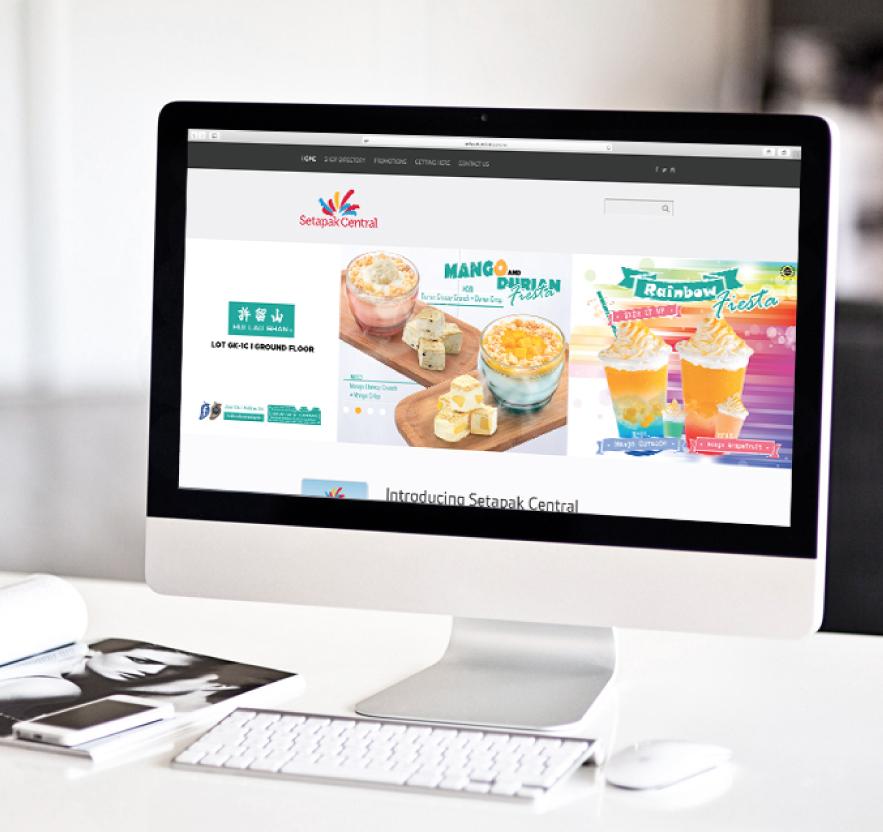 Brand Guide, Brand Identity, Logo Design, Web Design for Shopping Mall