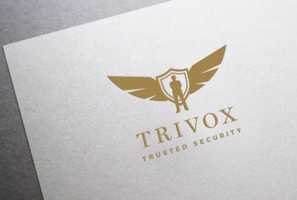 brand revitalisation Brand Identity, Logo Design for Security Services Company Trivox