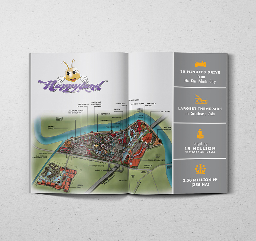 Branding and graphic design in Singapore for Themepark
