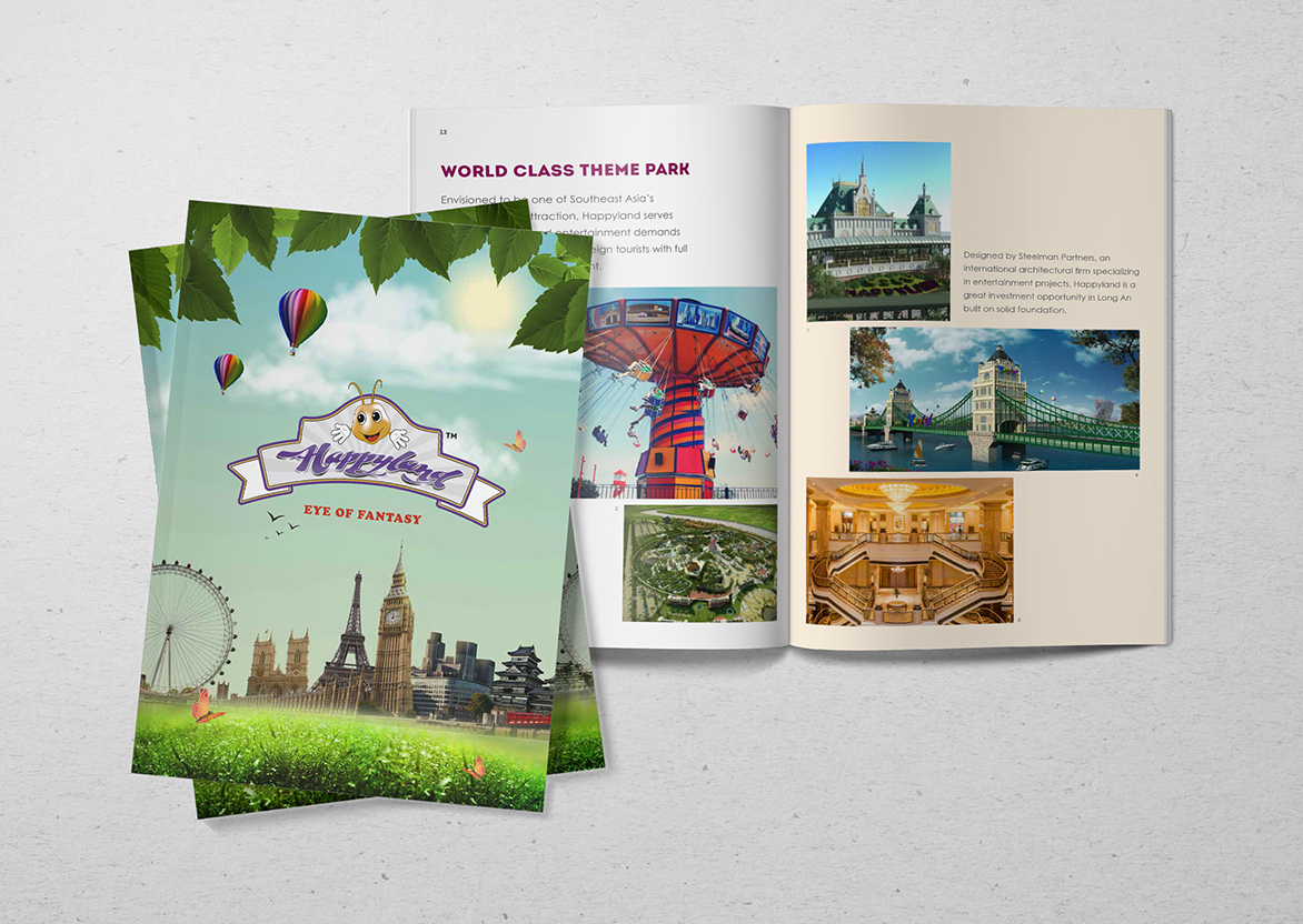 Branding and graphic design in Singapore for theme park