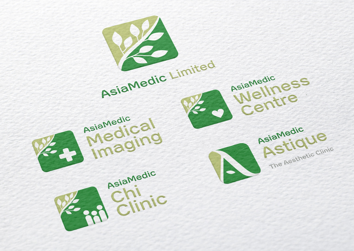 Branding and graphic design for Asia Medic