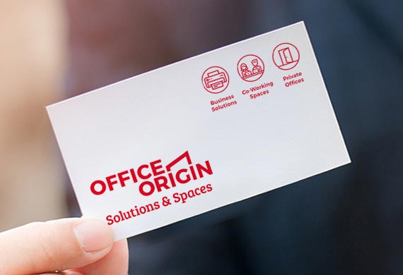 Branding and graphic design for Office Origin